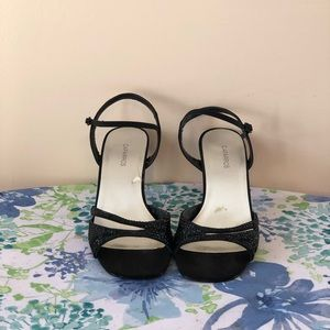 Caparros Black Kacey Heels